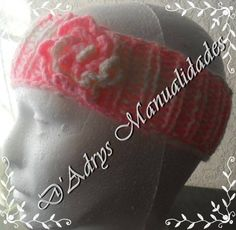 Diadema tejida o cinta para la cabeza