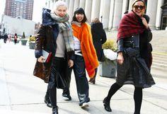 new york fashion week fall 2014 #nyfw14 streetstyle