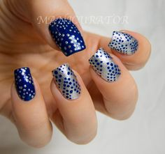 Dot inspiration  by Manicurator: nail art, polish, manicures and all things beauty blog