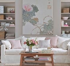 Love Couch Look With Pastels