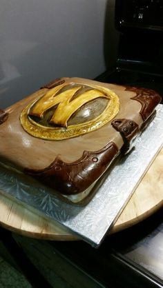 World of warcraft cake