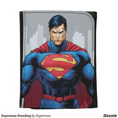 Superman Standing Wallet. Cool Gift Ideas.