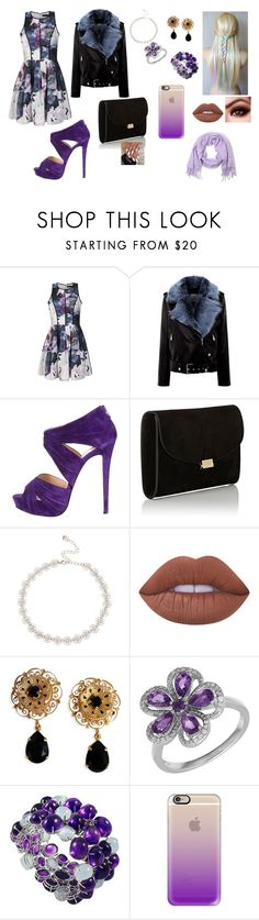 """""""Untitled #78"""" by klaudija369 on Polyvore featuring beauty, Ally Fashion, La Bête, Christian Louboutin, Mansur Gavriel, Lipsy, Lime Crime, Dolce&Gabbana, Lord & Taylor and Casetify"""