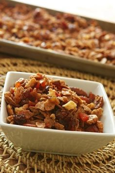 Passover Granola and other recipes