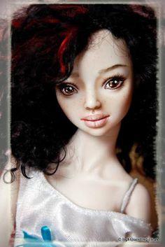 Marina Bychkova doll. Natural hair <3