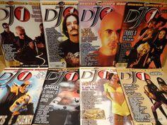 REVISTA DJ 1. LOTE DE 8 REVISTAS AÑOS 2000 - COMO NUEVAS.