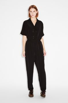 Monki | View all new | Short sleeve jumpsuit