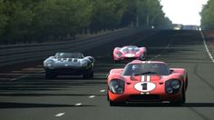 LeMans - AJ Foyt and Dan Gurney driving the MKIV to victory.
