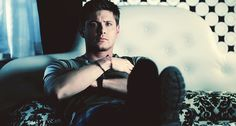 """[gif] Dean slowly rising from a bed...I can just imagine the abs... ;)"" I love…"