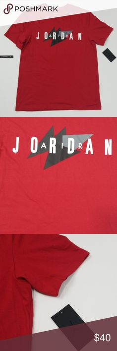 4a7cd8e5fb25 Jordan T-Shirt New With Tags Color Red Size Large Nike Jordan Tee C2 Nike