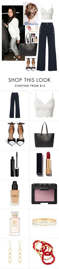 """""""Leigh Anne Pinnock, LM #7"""" by ambere3love34 ❤ liked on Polyvore featuring Chloé, Givenchy, Yves Saint Laurent, Marc Jacobs, Chanel, NARS Cosmetics, Tory Burch, Kate Spade, NEST Jewelry and Jennifer Zeuner"""