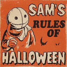 It's Always Autumn - A - Halloween Happy Halloween, Days Until Halloween, Halloween Tags, Halloween Poster, Retro Halloween, Halloween Photos, Halloween Horror, Fall Halloween, Halloween Drawings