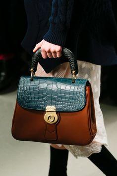 01b4c5d43b80 Leather Shoulder Bags-Everhandmade.com · Burberry Spring 2017 Ready-to-Wear  Accessories Photos - Vogue