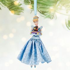 #disney New Disney Store 2016 Cinderella Gus and Jaq Sketchbook Ornament Princess Blue please retweet