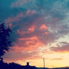 """#sheffield #sunset #sunsetlovers"""