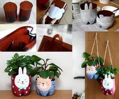 How to Make Plastic Bottle Pet Pot - DIY & Crafts - Handimania
