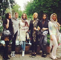 Iranian girls in Iran