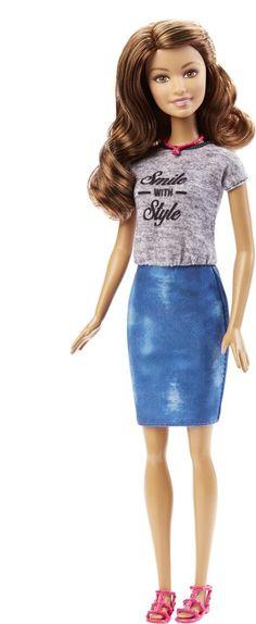 Barbie Fashionistas Lach Met Stijl - Barbiepop