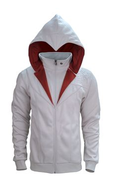 UbiWorkshop Store - Assassin's Creed - Ezio Brotherhood Hoodie, US$94.99 (http://store.ubiworkshop.com/assassins-creed/hoodies/assassins-creed-ezio-brotherhood-hoodie)