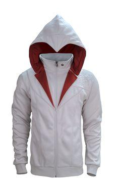 Assassin's Creed Ezio Brotherhood Hoodie Assassins Creed Hoodie, Assassins Creed Unity, Moda Geek, Surfer, Hollywood, Cool Hoodies, White Hoodie, Swagg, Sweater Hoodie