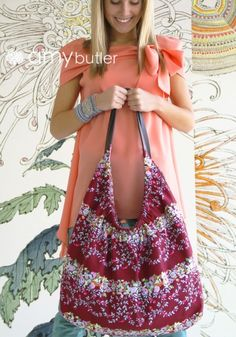 Amy Butler's Gypsy Sling might be our new favorite bag pattern! #sewing #bags #amybutler