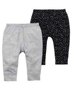 6d931dad4e0b34 2-Pack Babysoft Pants. Carter s. Baby ...