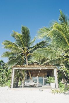 Where to Stay in Tulum The best new small boutique hotels in the bohemian Caribbean town. Pretty beach huts, hammocks, and palm trees in the sand: Nomade, Nest, Sanara, and more