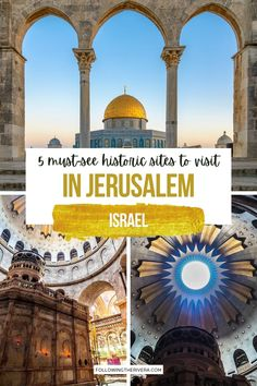 Israel Travel, Israel Trip, The Places Youll Go, Cool Places To Visit, Jerusalem Travel, Travel Destinations, Travel Tips, Cultural Experience, Historical Sites