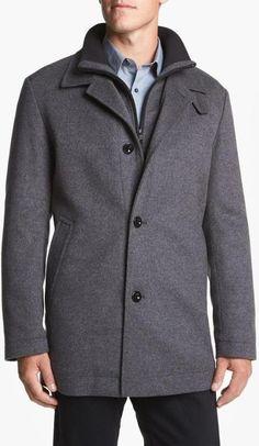 Classic Wool Coat.
