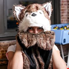 (6) Fab.com | Furry Winter Hats Fur You  - If I was younger and lived in a cold climate, I would have at least one of these! :)
