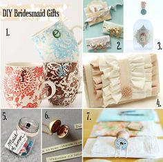 DIY Bridesmaid Gift Ideas