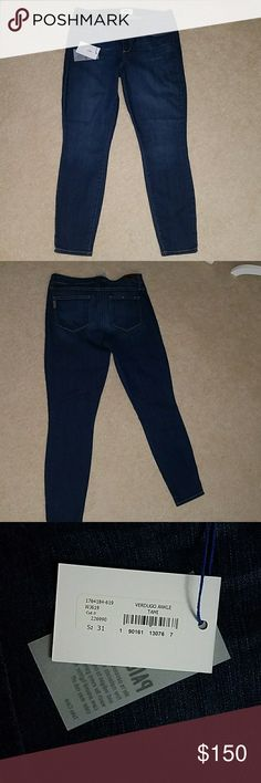 Paige Verdugo Ankle Tami Size 31 NWT Denim jeans with stretch. See pics for measurements. 22 PAIGE Jeans Ankle & Cropped