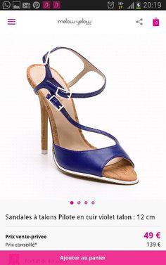 MELLOW YELLOW chaussure femme