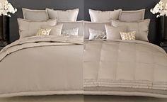 Donna Karan Bedding, Modern Classics Platinum Ash Collection