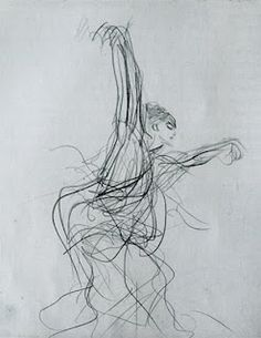John Singer Sargent - Spanish Dancer (I <3 gesture drawings... so quick & spontaneous to capture the essence of the subject &  their movement!) ~js