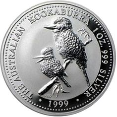 Mintage 50k* *2013 Australia 1 oz Silver 999 Kookaburra BU Snake Privy Mark