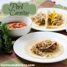 Pork Carnitas {Slow Cooker}