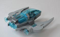 One seater aqua space craft   by Guido Martin-Brandis