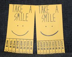 Spread cheer in your life! Post these in your workplace to see how many people are surprised and will smile. :)