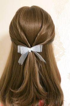 Hairdo For Long Hair, Bun Hairstyles For Long Hair, Pretty Hairstyles, Hairstyles Videos, Hair Ponytail Styles, Front Hair Styles, Medium Hair Styles, Hair Style Vedio, Hair Tips Video