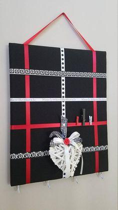 Memo board key holder memory board vision board fabric