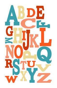 Fun ABC's! #abc #alphabet #printable