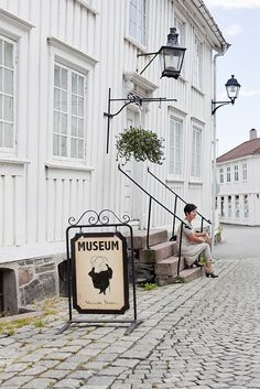 The Ibsen Museum in Grimstad, Norway, my hometown Beautiful Norway, The Beautiful Country, Beautiful World, Land Of Midnight Sun, Holidays In Norway, Scandinavian Countries, Shades Of White, Finland, Places To See