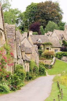 Picture of Picturesque old stone houses of Arlington Row in the village of Bibury, England stock photo, images and stock photography. Places In Europe, Oh The Places You'll Go, Places To Visit, Uk Europe, Edinburgh, Beautiful World, Beautiful Places, Arlington Row, Yvoire