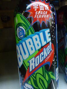 Bubble Rocket: Japanese soda - Space Flavor!  via Flickr