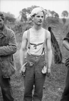 A German prisoner taken 19 July 1944.