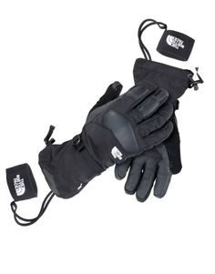 M Powdercloud Glove Black The North Face : GORE-TEX® : Snowleader