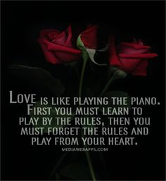 gothic love quotes   Gothic Love Quotes Love is like playing the piano