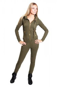 joggingpak legerprint dames