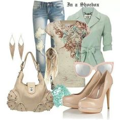 Pastel outfit